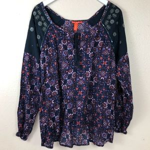 Printed Boho Style Top
